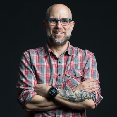 Steven Johnson Head Shot