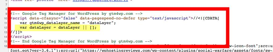 GTM4WP Code