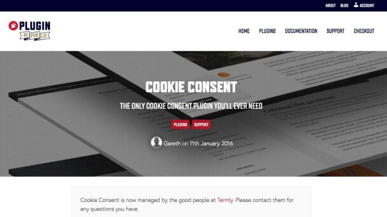 termly cookie consent plugin