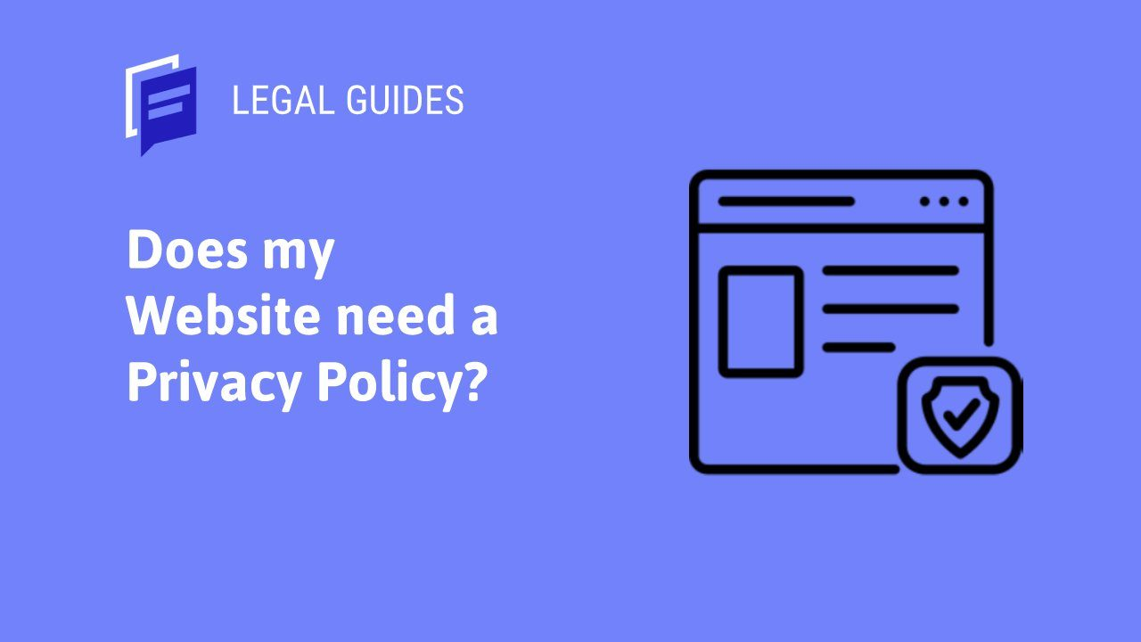 Does my website need a privacy policy