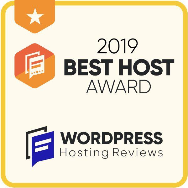 2019 Best Host Award