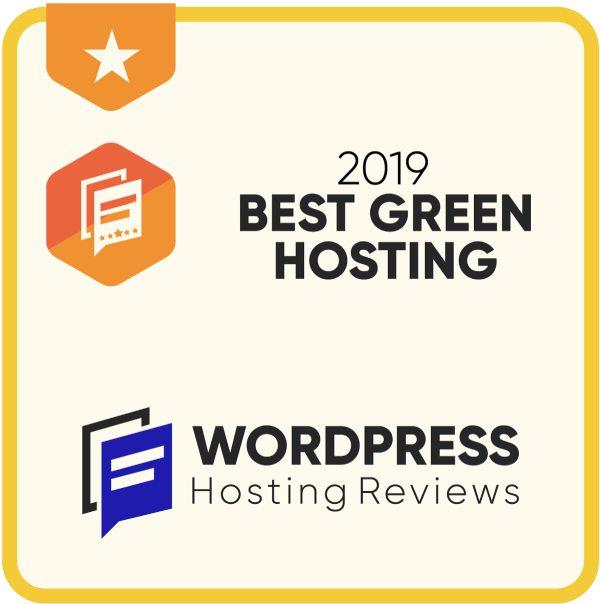 2019 Best Green Hosting
